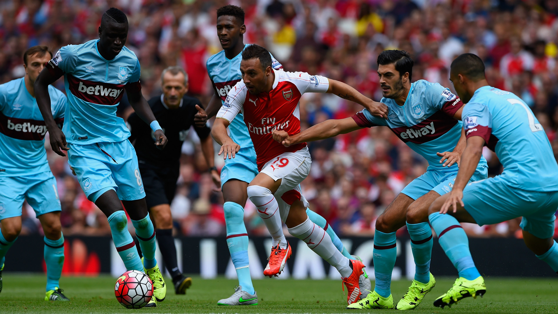 Arsenal vs West Ham United